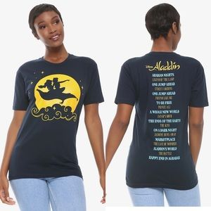 👸🏻 NWT Disney Aladdin World Tour Women's T-Shirt
